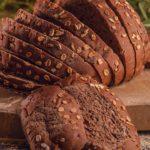 Pão integral com aveia