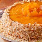 Torta de Damasco com Pêssego Paladar